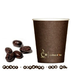 Pahar - 150 ml. (6 oz) Coffee4you
