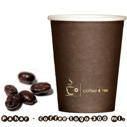 Pahar - 300-350 ml. (12 oz) Coffee4you